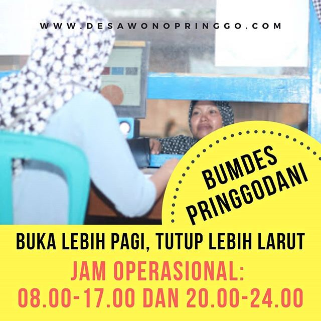 Bertransaksi Sekaligus Beramal di BUMDes Desa Wonopringgo