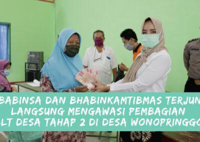 Penyaluran BLT Desa Wonopringgo Tahap 2