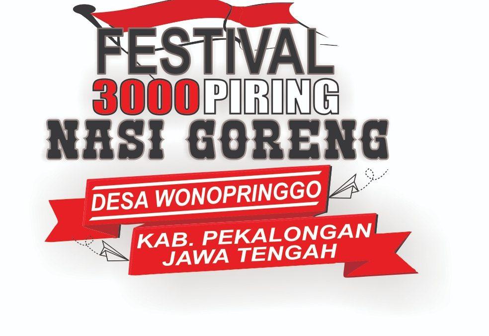 Festival 3000 Piring Nasi Goreng Gratis Desa Wonopringgo Tahun 2019