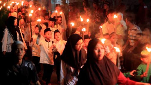 Pawai Ta'aruf dan Pengajian Umum dalam Rangka Akhirussanah MDA Darul Huda Desa Wonopringgo