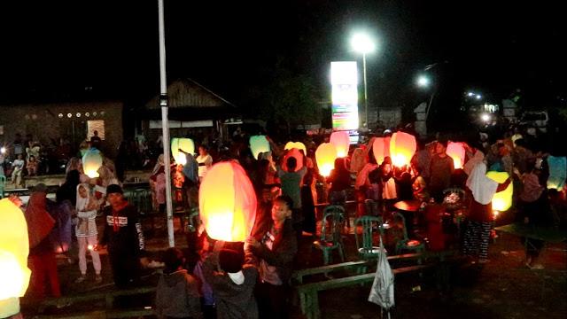 Perayaan Pergantian Tahun Baru di Desa Wonopringgo
