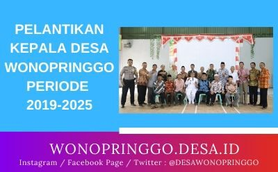 Pelantikan Kepala Desa Wonopringgo 2019-2025